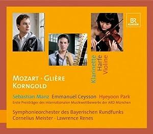 Clarinet Concerto; Harp Concer