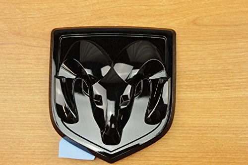 [해외]Muzzys 블랙 닷지 램 헤드 엠블렘 1500 2500 3500 Front & amp; /Muzzys Black Dodge Ram Head Emblem 1500 2500 3500 Front & Rear
