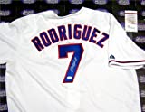 Ivan Rodriguez autographed Jersey (Texas Rangers) JSA Amazon.com