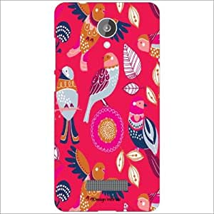 Design Worlds Back Cover Micromax Canvas Spark Q380 - Phone Cover Multicolor