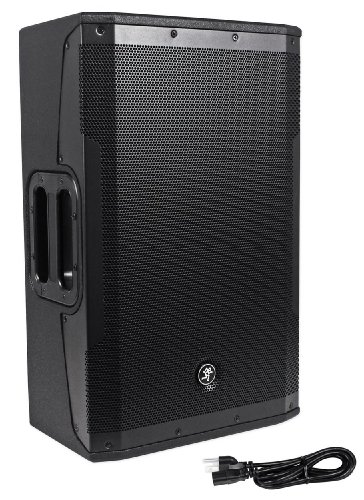 "Mackie Srm550 1600 Watt 12"" High-Definition B-Amped Active/Powered Dj/Pa Speaker With High Definition Audio Processing And Acoustic Correction For Professional Sound"