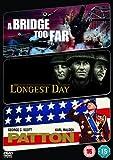 The Longest Day/A Bridge Too Far/Patton [DVD]
