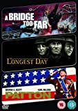 The Longest Day/A Bridge Too Far/Patton [DVD]