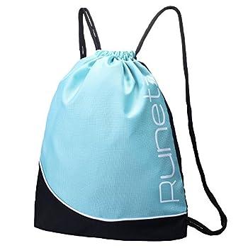 Runetz - Gym Sack Bag Drawstring Backpack Sport Bag for Men & Women Sackpack 2