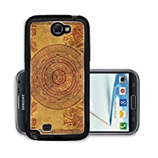buy Liili Premium Samsung Galaxy Note 2 Aluminum Snap Case Maya Calendar On Ancient Parchment Photo 6237692