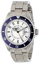 Breytenbach Unisex BB2810BL Classic Analog Colored Bezel Watch