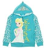 Freeze Girls Frozen Elsa Fleece Jacket Turquoise