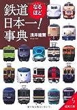 鉄道なるほど日本一!事典 (成美文庫)
