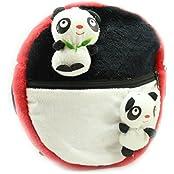 Tickles Cutle Little Panda Slimh Bag Stuffed Soft Plush Toy Love Girl