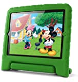 Lavolta Soporte Antichoque Forro Infantil Funda protectora para Apple iPad 2 / iPad 3 / Nuevo iPad Retina - Verde