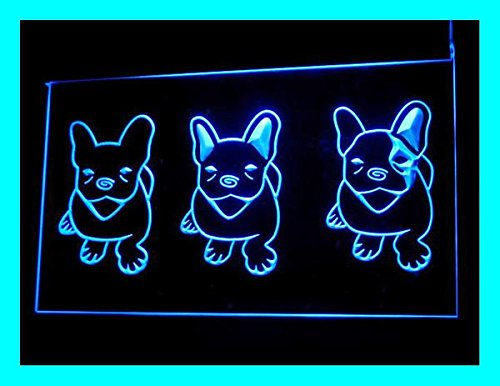 C B Signs French Bulldog Puppies Led Sign Neon Light Sign Display