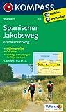 Spanischer Jakobsweg: Fernwanderweg. GPS-genau. 1:100000