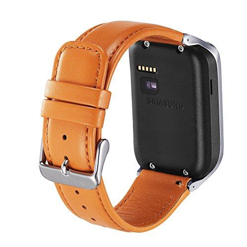 Samsung Galaxy Gear 2/Neo Premium Leather Band - Retail Packaging - Orange