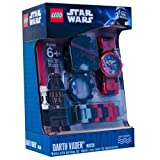 Toy - Clic Time CT46125 - Lego Star Wars Kinderuhr - Darth Vader