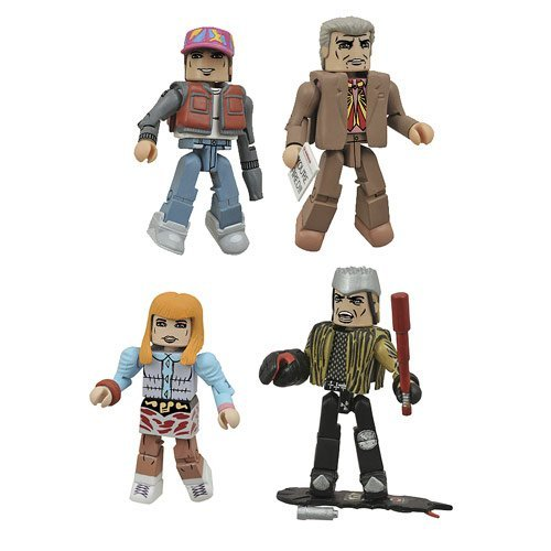 Diamond Select Toys Back to the Future: 30th Anniversary 2015 Hill Valley Minimates Box Set Action Figure by Diamond Select