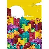 Chumbak Building Print Wall Art (CH WA001)