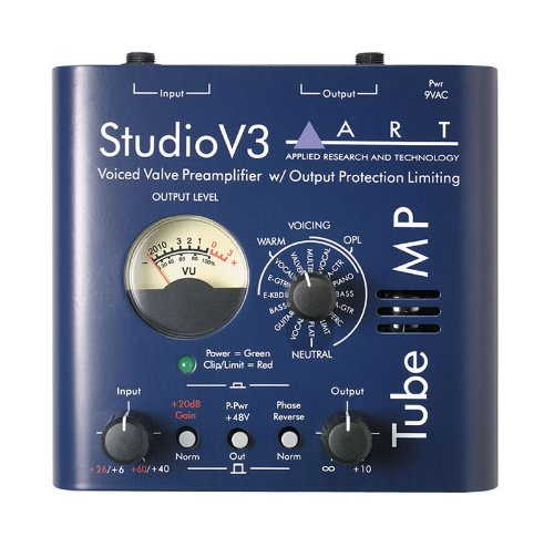 Art Tube Mp Studio V3 - Valve Mic Preamp With Variable Valve Voicing