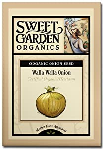 Walla Walla Onion - Certified Organic Heirloom Seeds