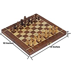 Wooden Non Magnetic Chess Board Game