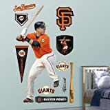 51BoQAykPxL. SL160  MLB San Francisco Giants Buster Posey No. 28 Wall Graphics