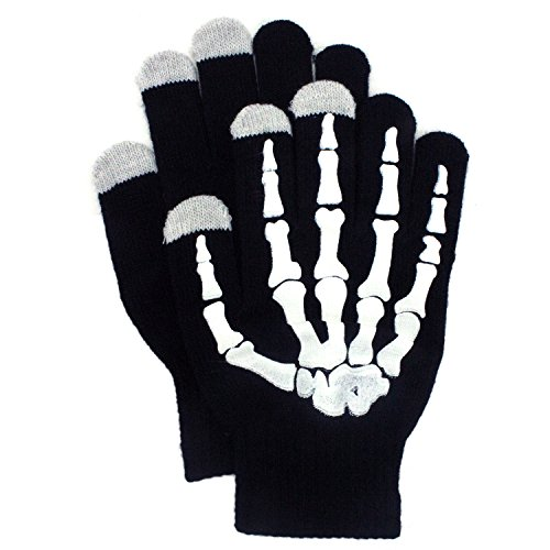 Skeleton Design Touch Screen Gloves
