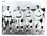 1907 Chicago Cubs Infield 8x10 Photo