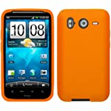 Cbus Wireless Orange Silicone Case / Skin / Cover for HTC Inspire 4G