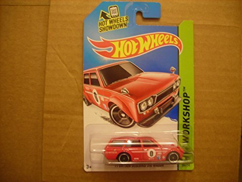 2014 Hot Wheels Hw Workshop - '71 Datsun Bluebird 510 Wagon - 1