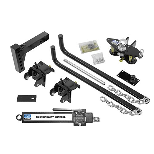 Reese 49902 Pro Series Complete Round Bar Weight Distribution Kit with Sway Control - 750 lb. (Pro Series 49902 compare prices)