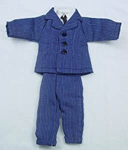 Heidi Ott Dollhouse Miniature 1: 12 Scale Men's Outfit #XZ973 Blue