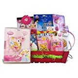 Perfect Birthday Gift Baskets for Girls Party Time with Disney Princess Care Baskets