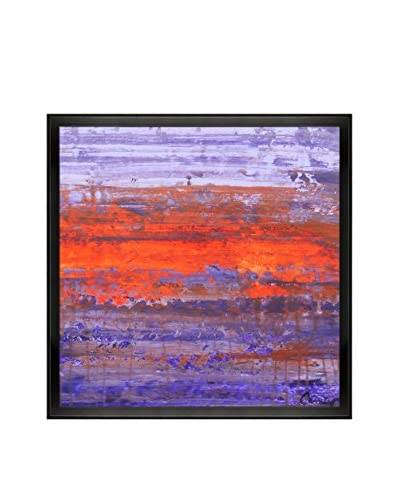 "Lisa Carney ""P1413"" Framed Print on Canvas"