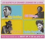 echange, troc Aretha Franklin & Otis Redding & Billy Paul & Bill Withers - Les Quatre Plus Grandes Légendes De La Soul