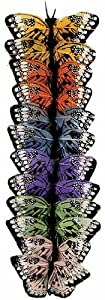 Package of 12 - Assorted Color Mini Artificial Butterflies