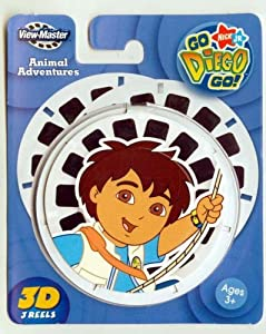 ViewMaster 3D Reels - Go Diego Go 3-pack set