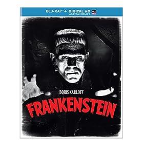 Frankenstein (Blu-ray + DIGITAL HD with UltraViolet)