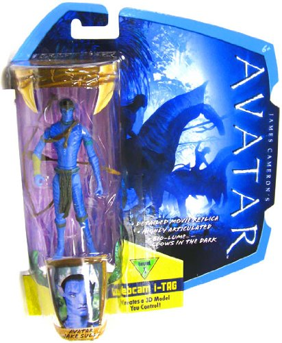 Buy Low Price Mattel James Cameron's Avatar Movie 3 3/4 Inch Na'vi Action Figure Avatar Jake Sully with Head Band & Bow Na'Vi Avatar (B0035LKY84)