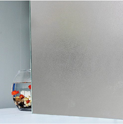 Bloss PVC Glass Film Waterproof Privacy Frosted 17.7 Inch Width Home Bathroom (Frosted Glass Panel Door compare prices)