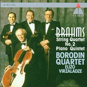 Brahms : Piano Quintet & String Quartet No.2 from Warner Classics International