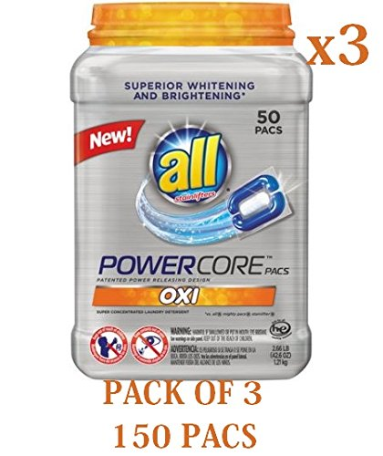 all-powercore-pacs-oxi-super-concentrated-laundry-detergent-50-count-266-lbs-pack-of-3-150-pacs-in-t