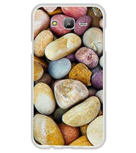 Multicolour Stones 2D Hard Polycarbonate Designer Back Case Cover for Samsung Galaxy J7 J700F (2015 OLD MODEL) :: Samsung Galaxy J7 Duos :: Samsung Galaxy J7 J700M J700H