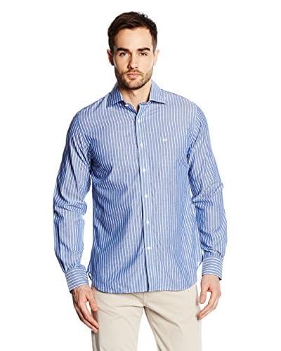 Pedro del Hierro Camisa Hombre Azul