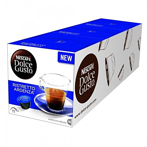 Shop for Nescafè DOLCE GUSTO Pods Coffee Capsules - RISTRETTO ARDENZA - 16 pods (pack x 3) by NESTLÉ Portugal