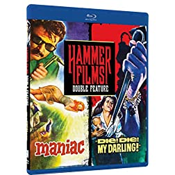 Hammer Films Double Feature - Volume Three: Maniac, Die! Die! My Darling! [Blu-ray]