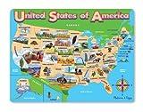 Melissa & Doug USA Map Jigsaw Puzzle