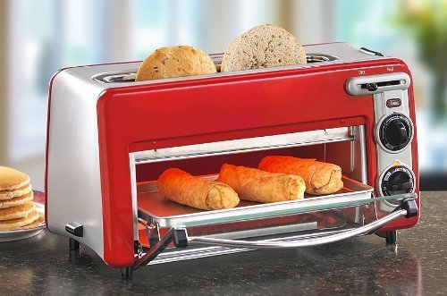 Toaster Oven In Red
