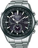 [セイコー]SEIKO 腕時計 SEIKO ASTRON アストロン ソーラー GPS 衛星電波修正 ブライトチタン 黒×白ダイヤル サファイアガラス スーパークリアコーティング 日常生活用強化防水 (10気圧防水) SBXA003 メンズ