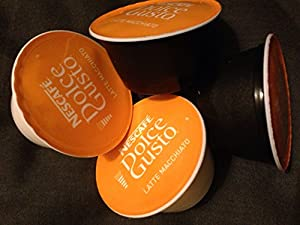 Dolce Gusto 100 loose latte milk and coffee pods
