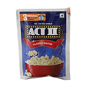 Act Ii Instant Popcorn Classic Salted 40g Amazon In