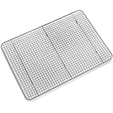 Bellemain Cooling Rack, Chef Quality 12 inch x 17 inch - Oven Safe, Fits Half Sheet Cookie Pan